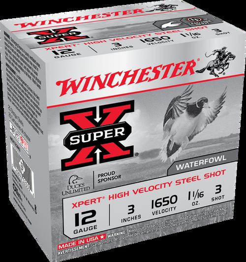 "Winchester SuperX 12ga, 3"", 1.1/16oz, #2, 25/bx"