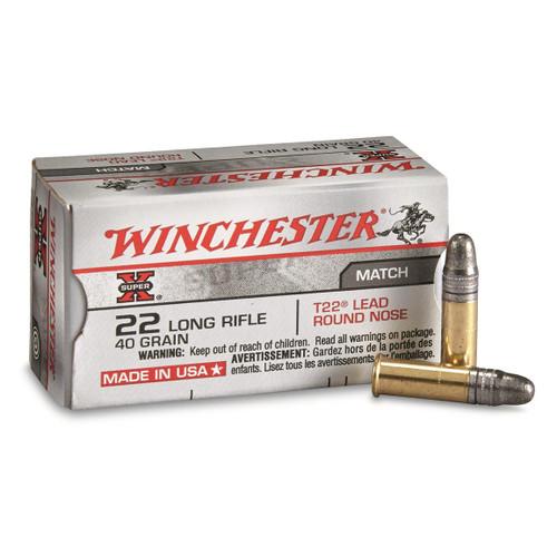Winchester 22LR, 40gr, 50/bx