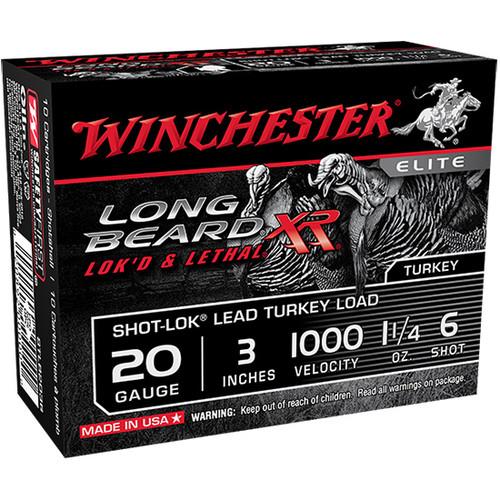 """Winchester Long Beard XR 20ga, 3"""", #6, 10/bx"""