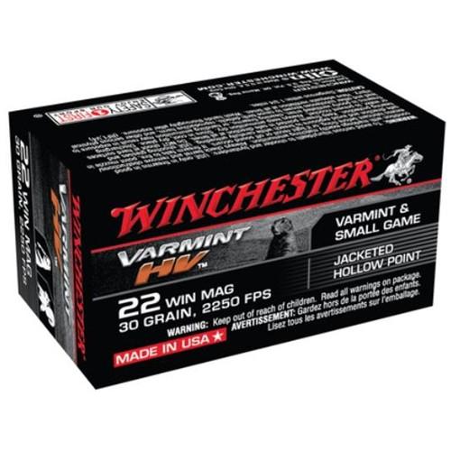 Winchester 22WM, 30gr, 50/bx