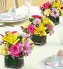 Chicago Flowers Spring Trio Centerpiece