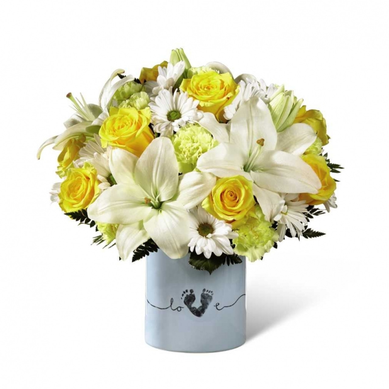 Tiny Miracle New Baby Boy Bouquet Kloeckner Preferred Flowers