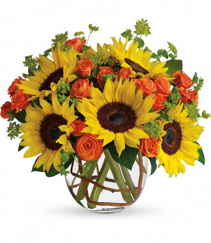 Chicacago Florist Sunny Sunflowers Delight