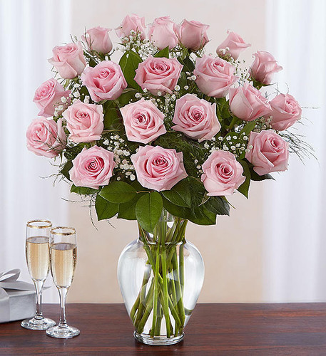 Ultimate Elegance™ 2 Dozen Long Stem Pink Roses