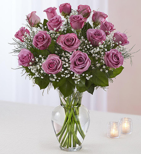 Ultimate Elegance™ 2 Dozen Long Stem Lavender Roses