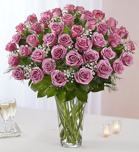 Ultimate Elegance™ 4 dozen Long Stem Lavender Roses
