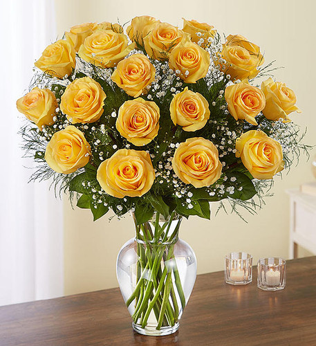 Ultimate Elegance™ 2 Dozen Long Stem Yellow Roses