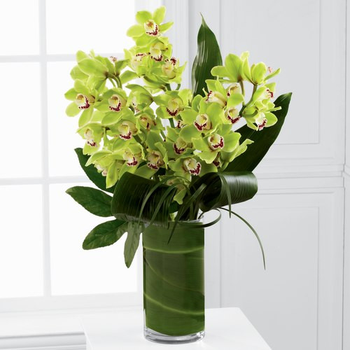 Vision Luxury Cymbidium Orchids Bouquet