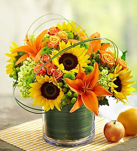 Chicago Sunburst Bouquet