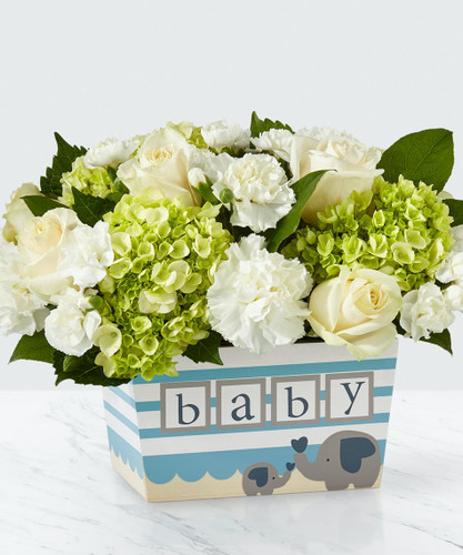 Chicago DARLING BABY BOY BOUQUET