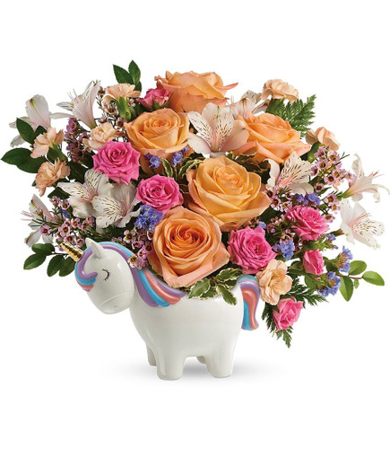 MAGICAL GARDEN UNICORN BOUQUET