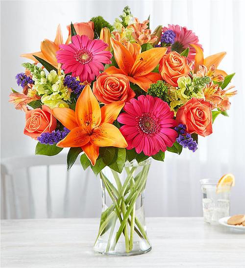 Chicago Vibrant Floral Medley