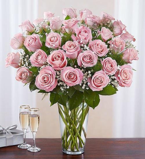 Ultimate Elegance™ 3 Dozen Long Stem Pink Roses