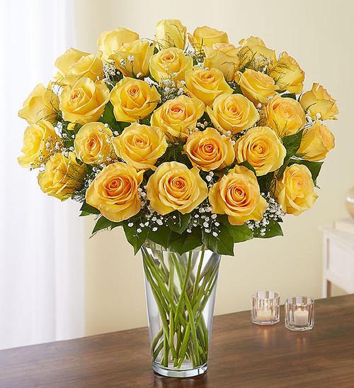 Ultimate Elegance™  3 Dozen Long Stem Yellow Roses