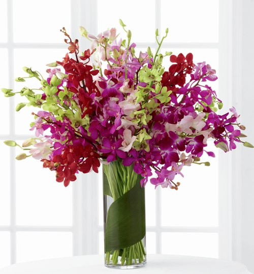 Luminous Luxury  Orchids Bouquet