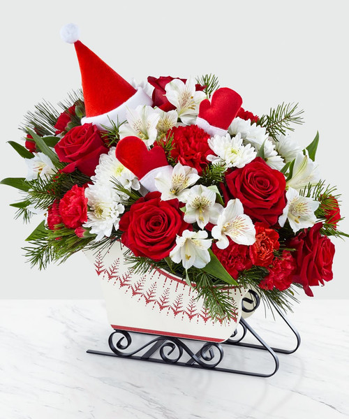 Chicago DASHING THROUGH THE SNOW BOUQUET On Sale