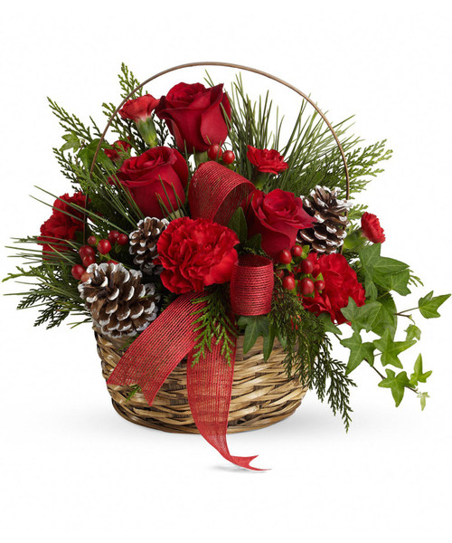 Chicago HOLIDAY HANDLE BASKET