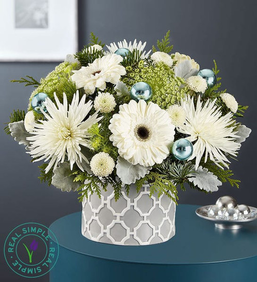 Winter Frost™ Bouquet By Real Simple® Local Florist Chicago Delivery