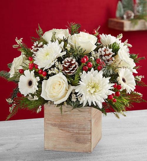 Festive Tidings™ Bouquet For Local Florist Chicago Delivery