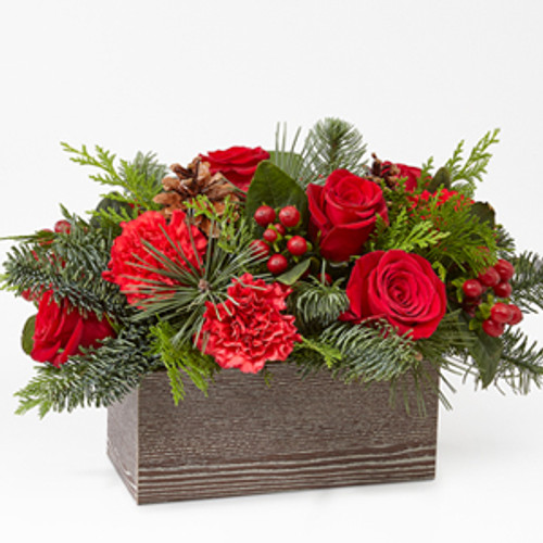 The FTD® Christmas Cabin™ Bouquet for Local Chicago Florist Delivery
