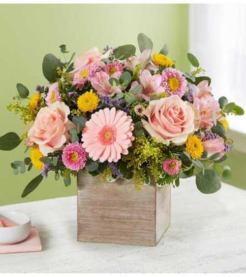 Spring Sentiment Bouquet