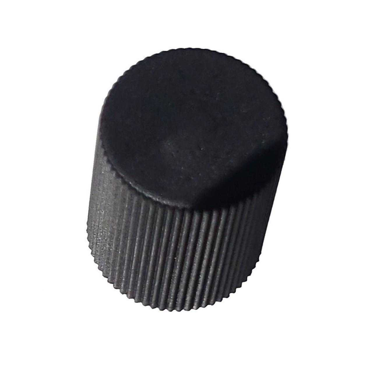 AC Service Cap - Black Low Side M8x1.0 - Interchanges: MT0062, 59937