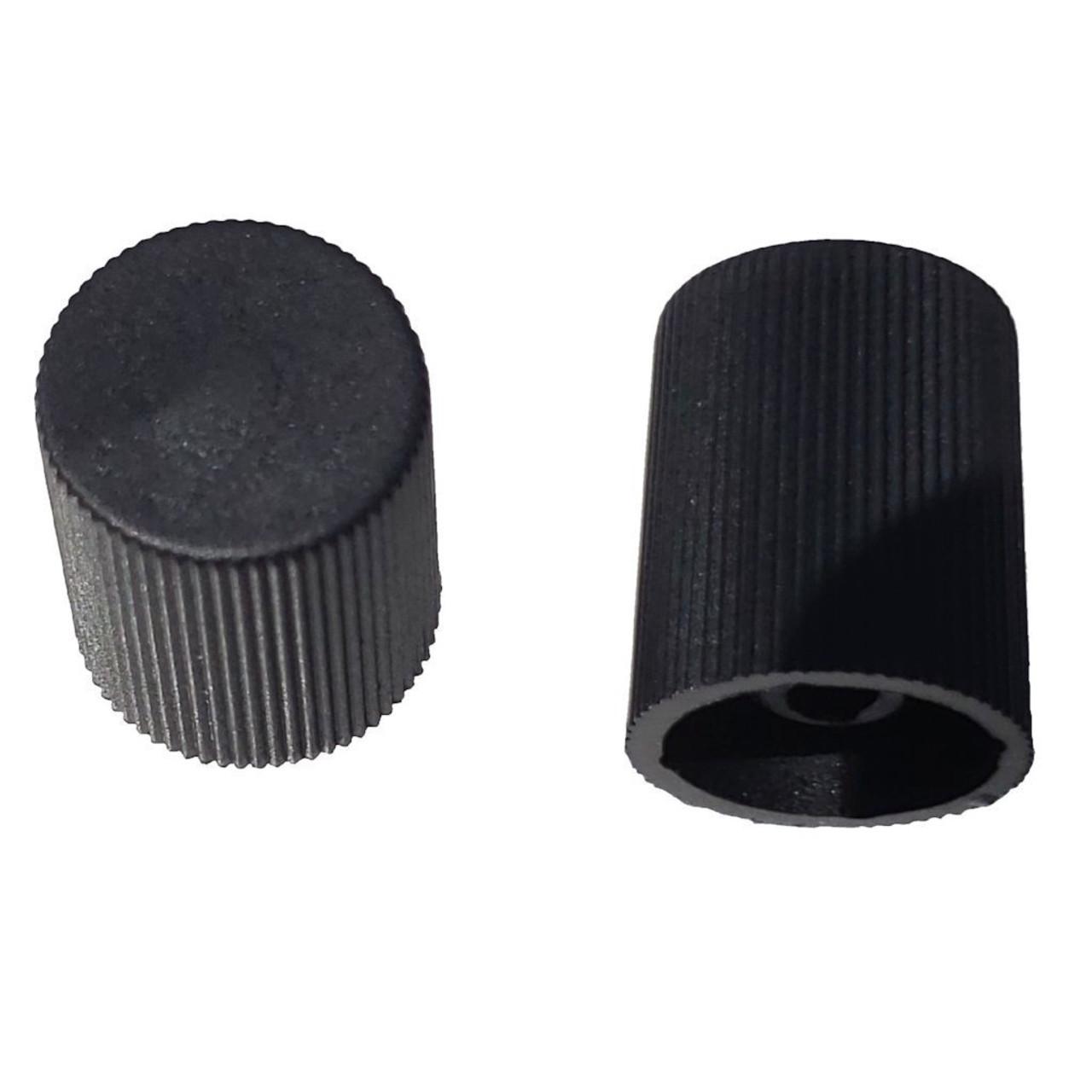 AC Service Port Cap - Black Low Side M8x1.0 - Interchanges: MT0062, 59937