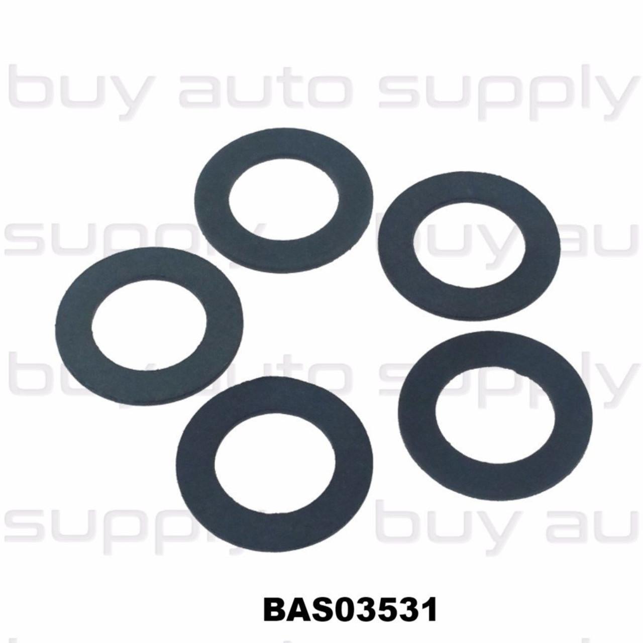 Fiber Drain Plug Gasket M12 - BAS03531 Interchanges: 097016, 97016, 7041077