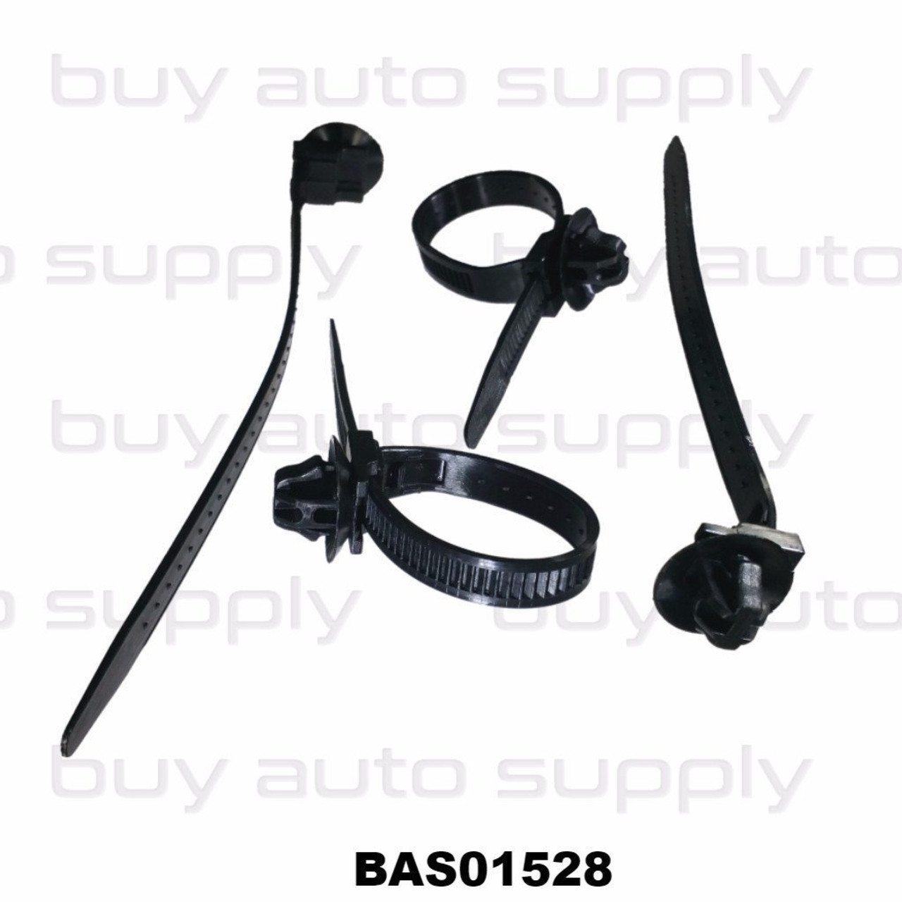 Oval Hole Zip Ties - BAS01528 - Interchange 21355, 99-9051