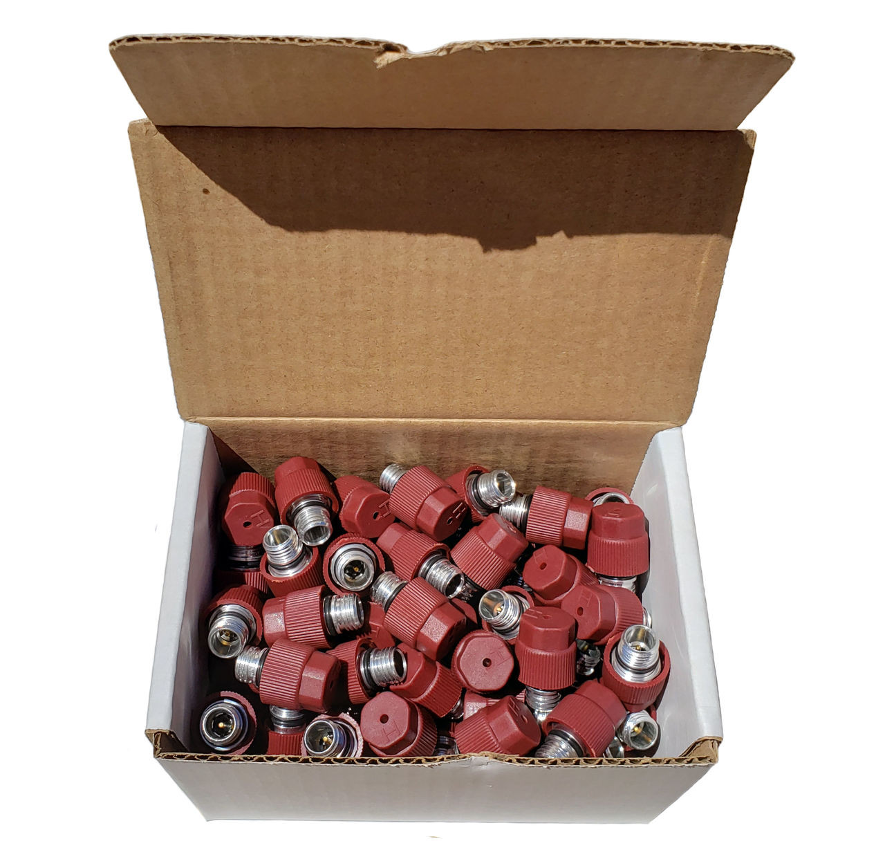 100 Pack High Side Service Ports - Interchange 15-32567, 15-5438, 52458184, 59946, MT0105