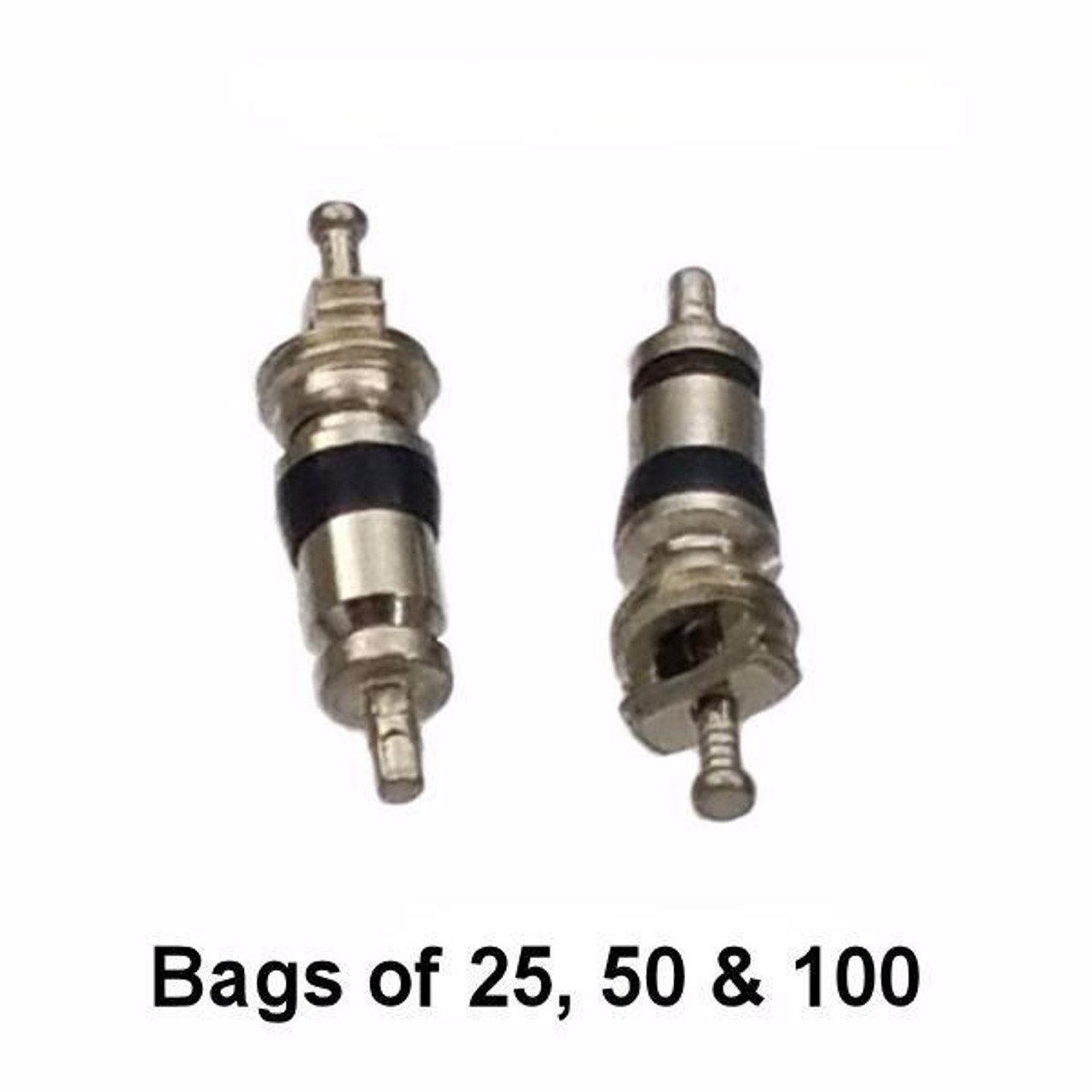A/C Schrader Valve Core - Black Seal - R12 and R134A