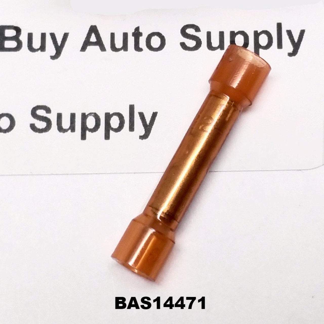 BAS14471 - Red Nylon Butt Connector - Made in USA - from Buy Auto Supply