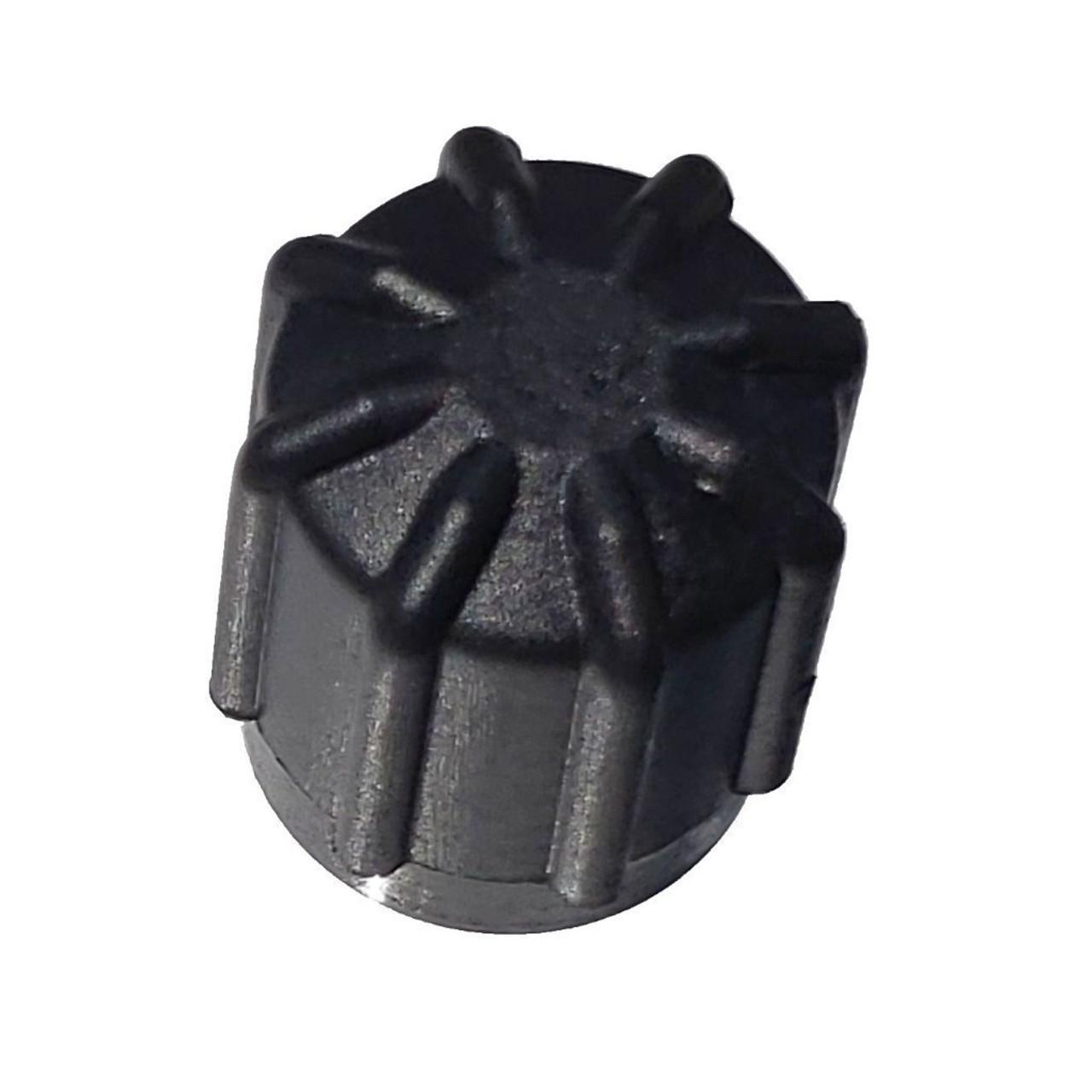 AC Service Cap Black - Interchanges: BMW 64538387437, 64538390633, 66206003001, Delco 15-5457, GM 25613359