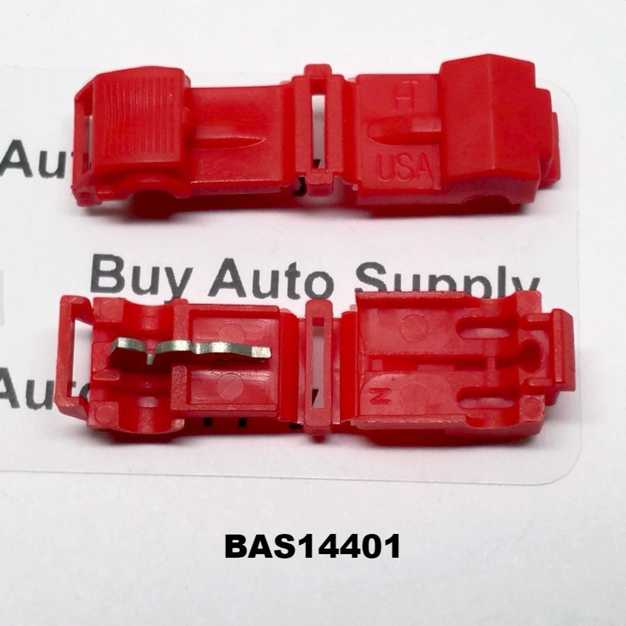 BAS14401 - Red T-Tap (22-18 AWG) -USA Made - from Buy Auto Supply