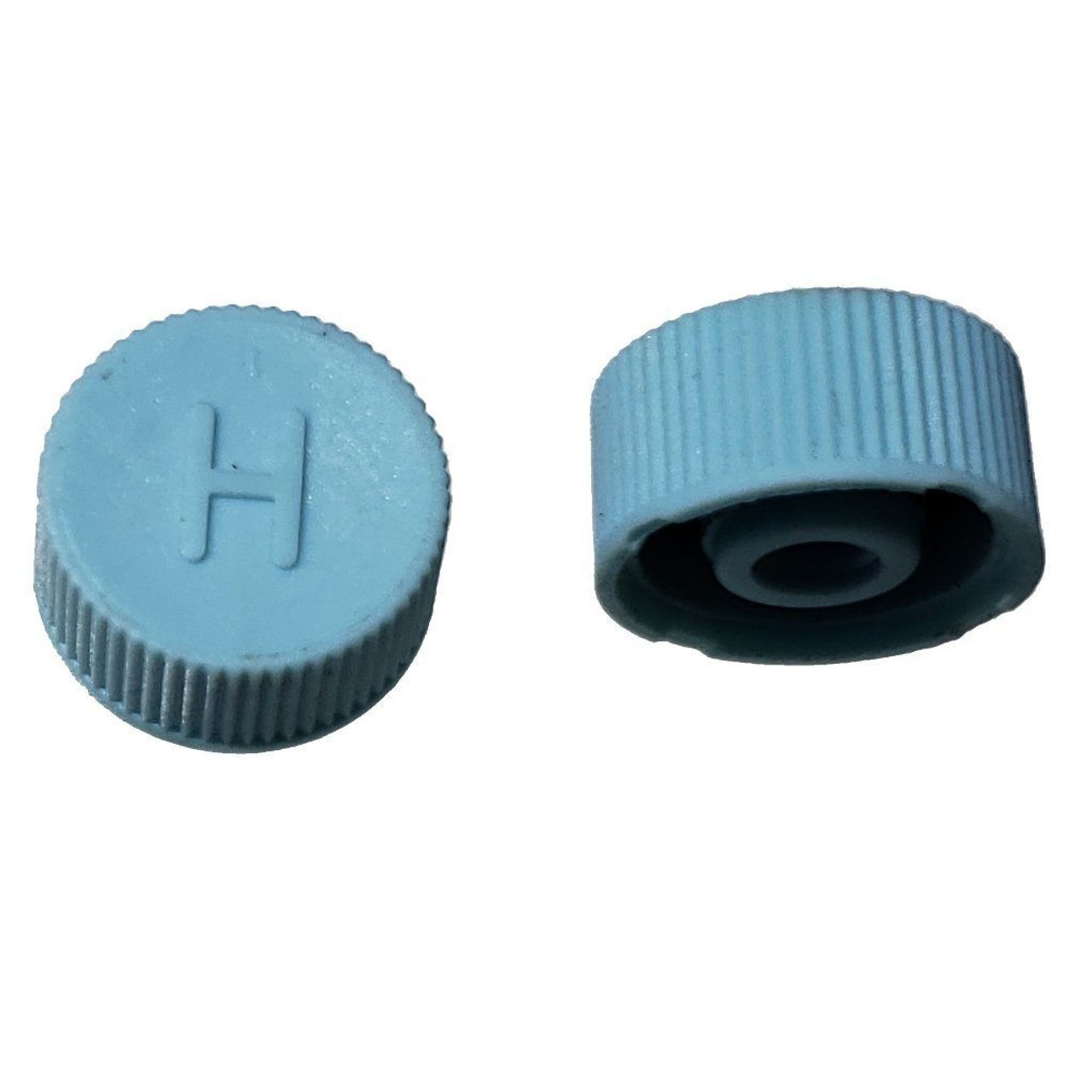 AC Service Port Cap R134a - Blue High Side M10x1.25 - Interchanges: MT0311, 69501