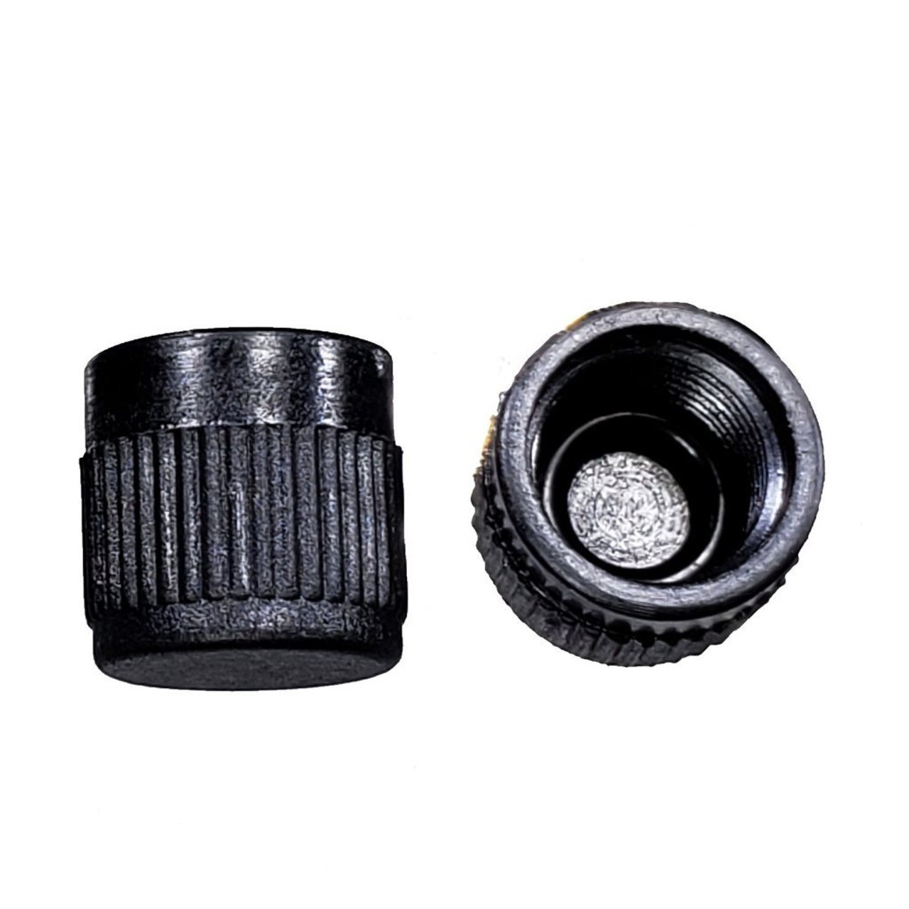 "AC Service Port Cap - Black High Side 3/16"" SAE - R12"