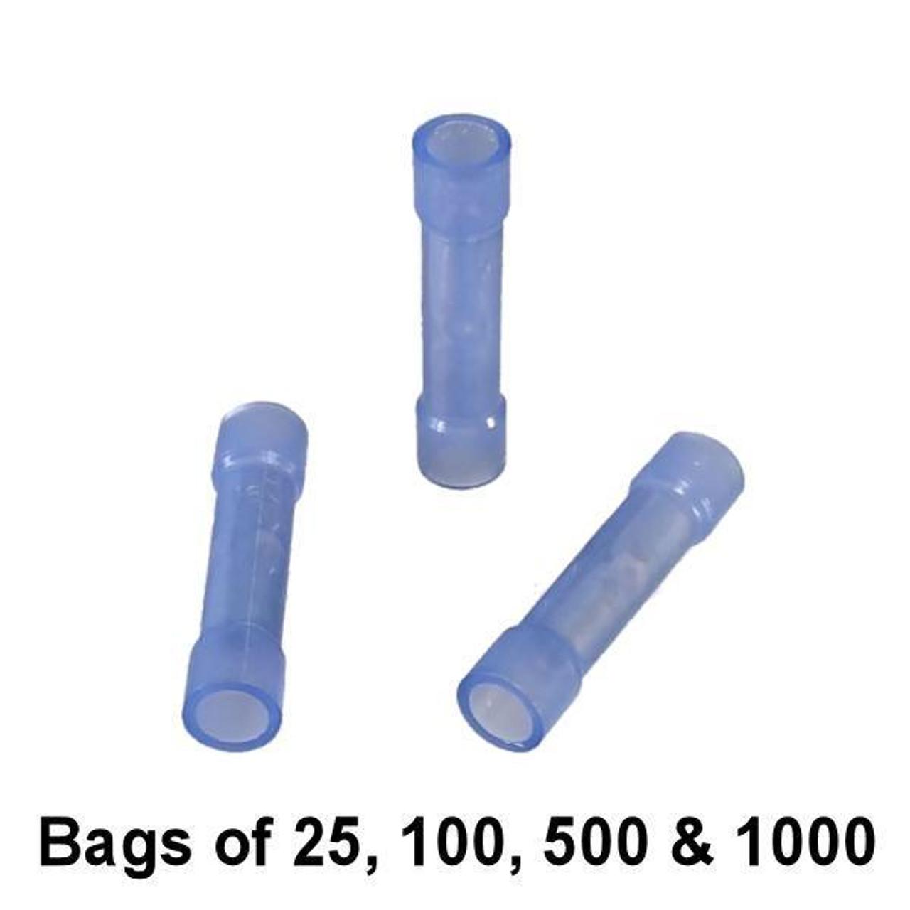 Blue Nylon Butt Connector - Bulk / Wholesale