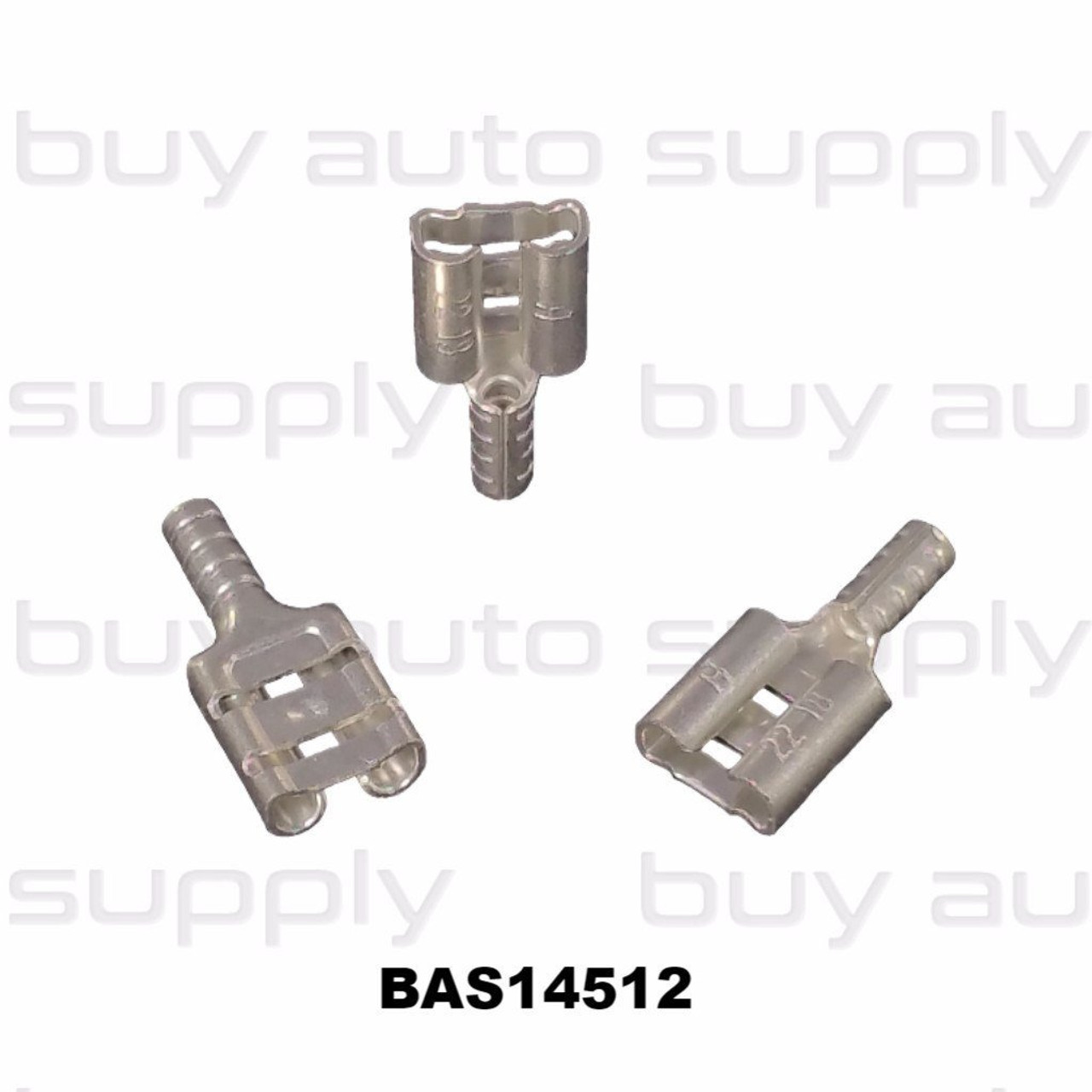Female Quick Connect Terminal (Non-Insulated) 22-18 - BAS14512 - from Buy Auto Supply