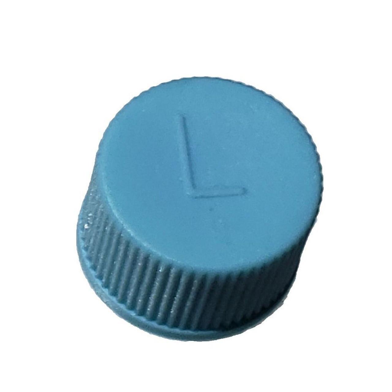 AC Service Cap R134a - Blue Low Side M9x1.0 - Interchanges: MT0310, 69500