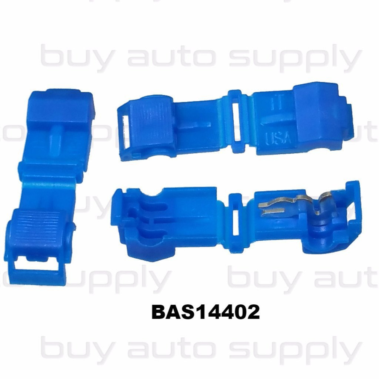 Blue Electrical T-Tap (16-14 AWG) - USA Made- BAS14402- from Buy Auto Supply
