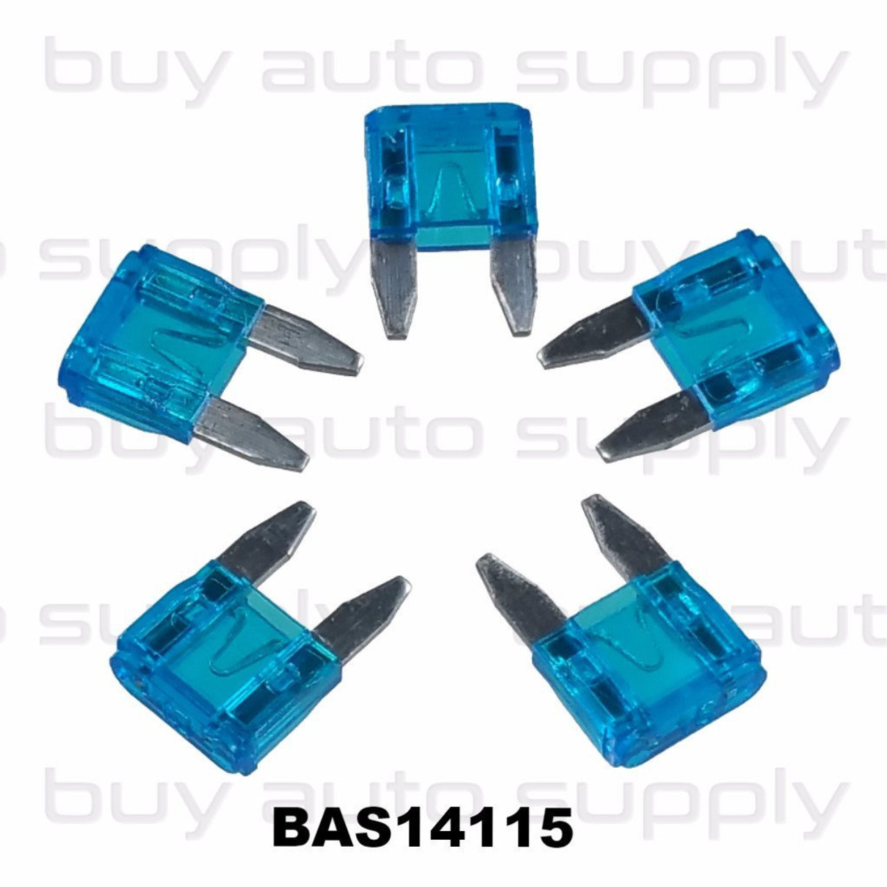 ATM Mini 15 Amp Fuse - BAS14115 - from Buy Auto Supply