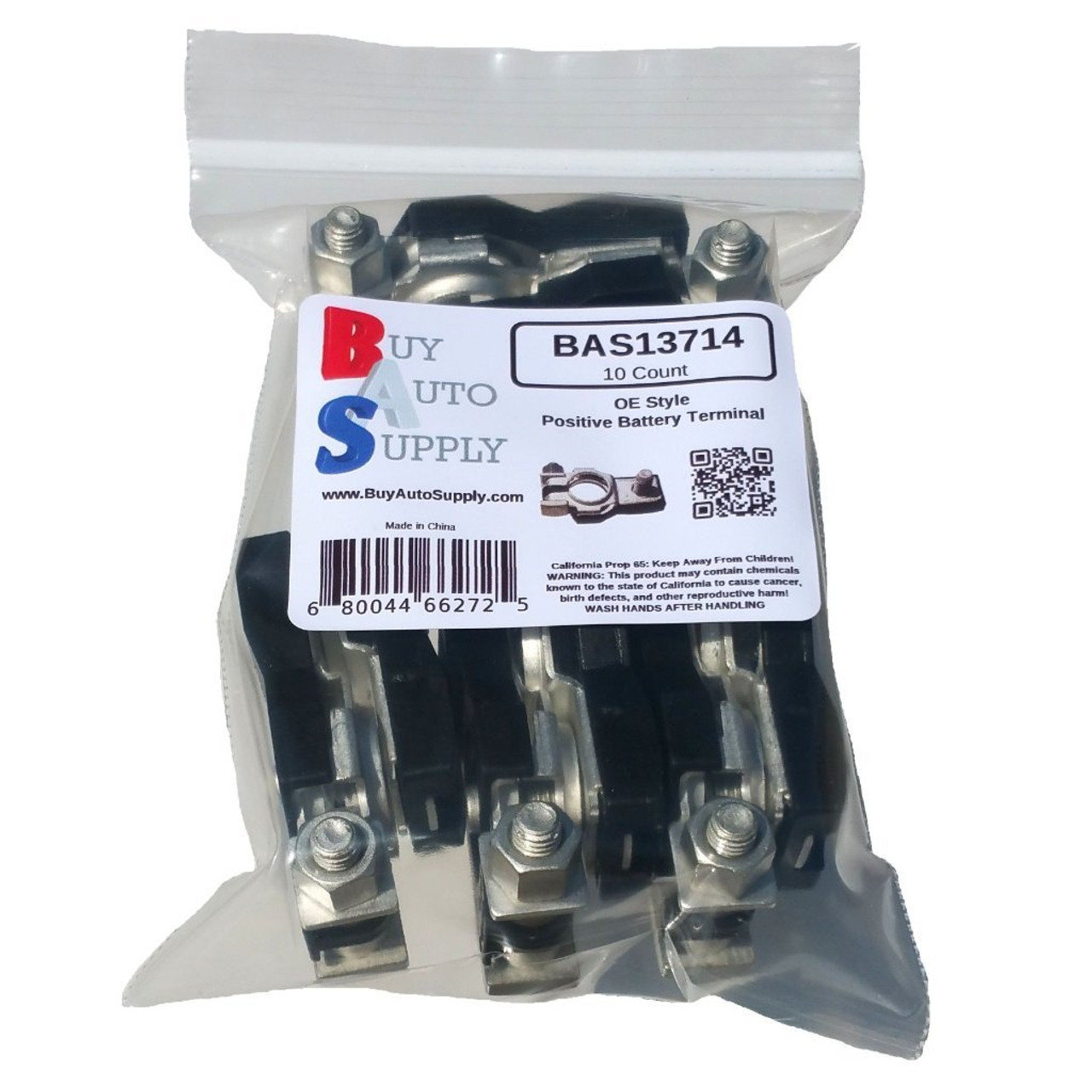 Bag of 10 Positive Top Post Battery Terminals OE Type