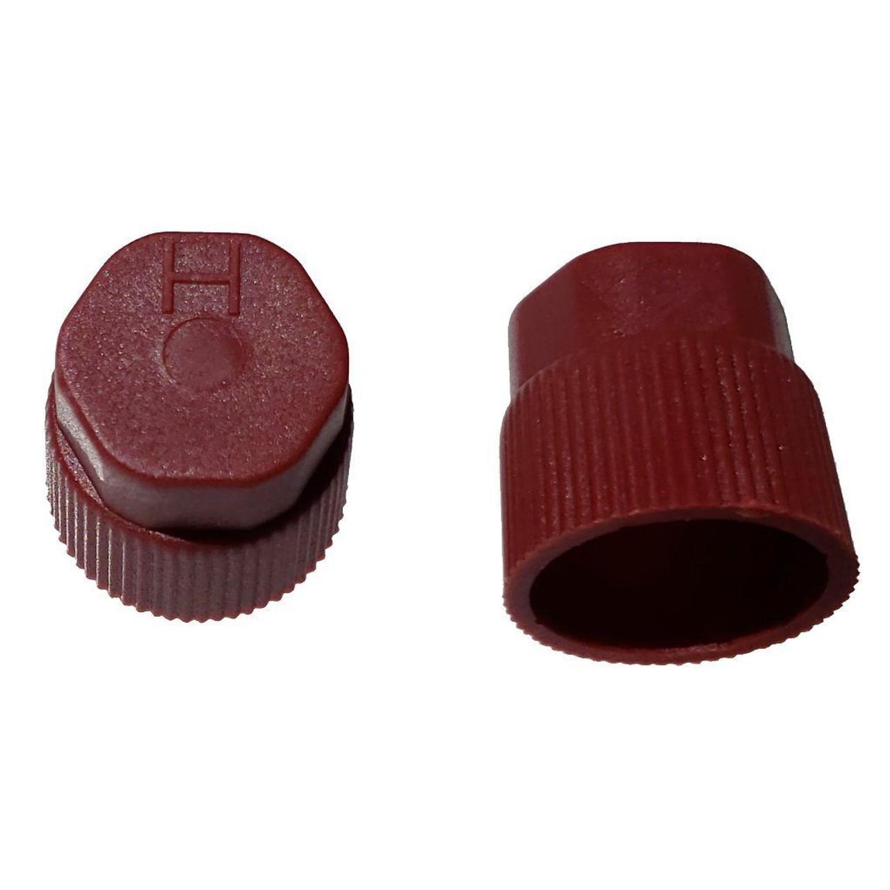 AC Service Valve Cap - Red High Side M10x1.25 - Interchanges: MT0067, 59933