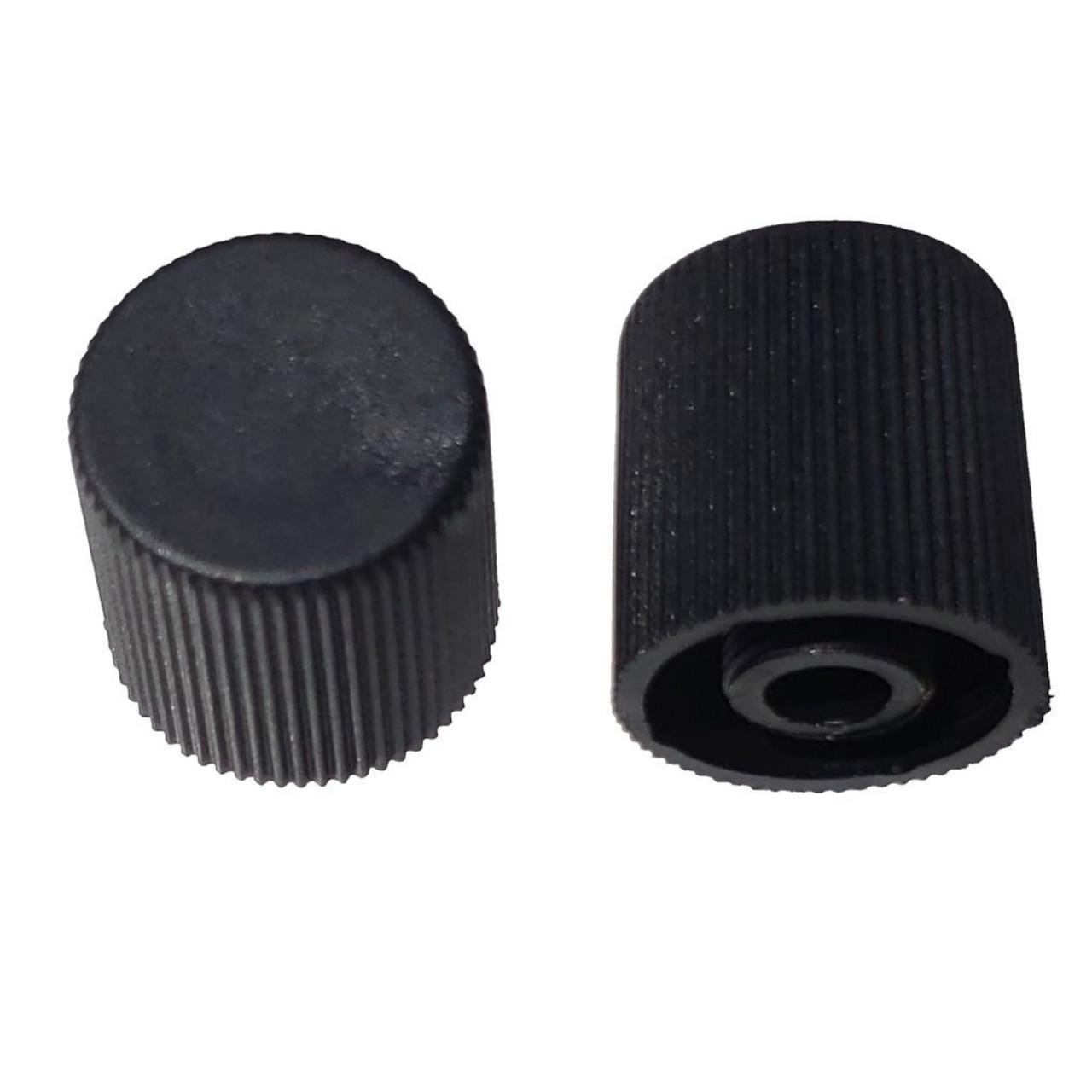 AC Service Valve Cap - Black High Side M10x0.75 - Interchanges: MT0068, 59938