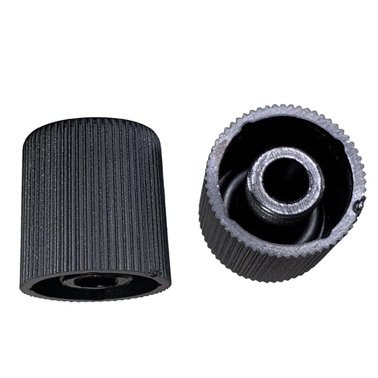 AC Service Port Cap - Black High Side M10x0.75 - Interchanges: MT0068, 59938
