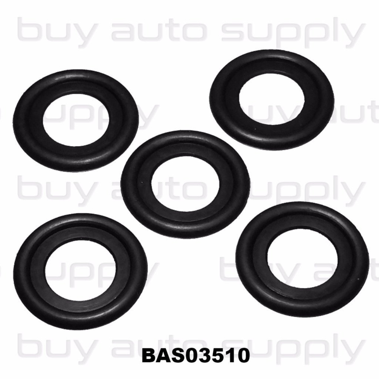 Rubber Drain Plug Gasket fits M12 - BAS03510 - Interchange 7041392, 097-119, 12616850, 3536966