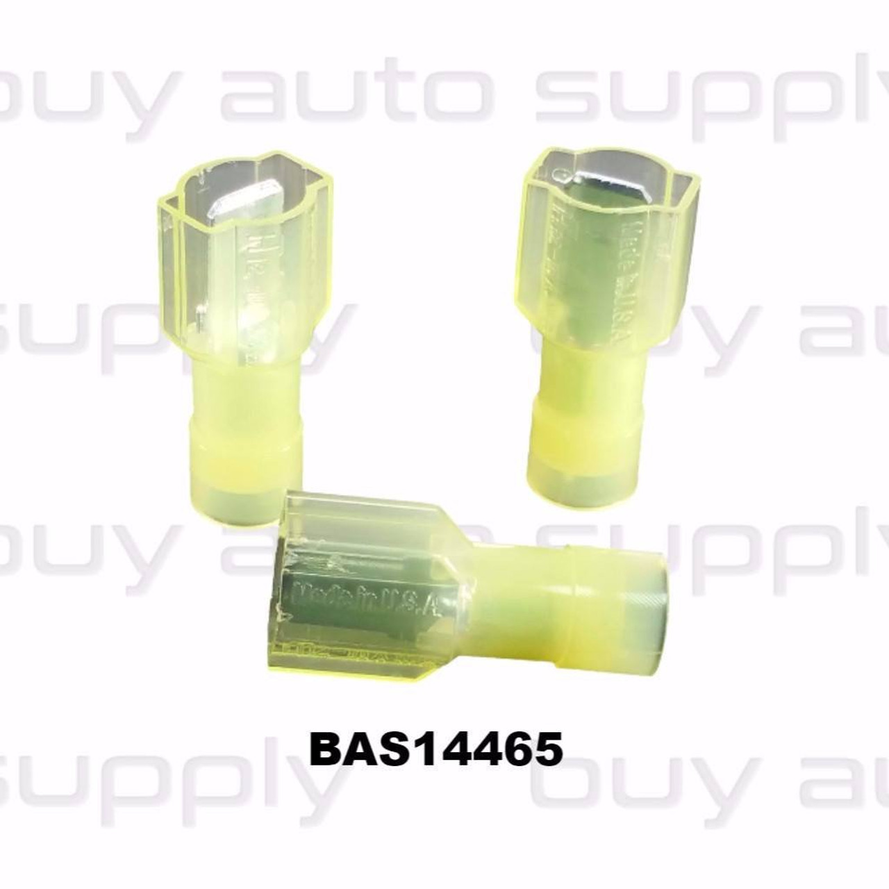 Yellow Male Quick Connect Terminal - BAS14465