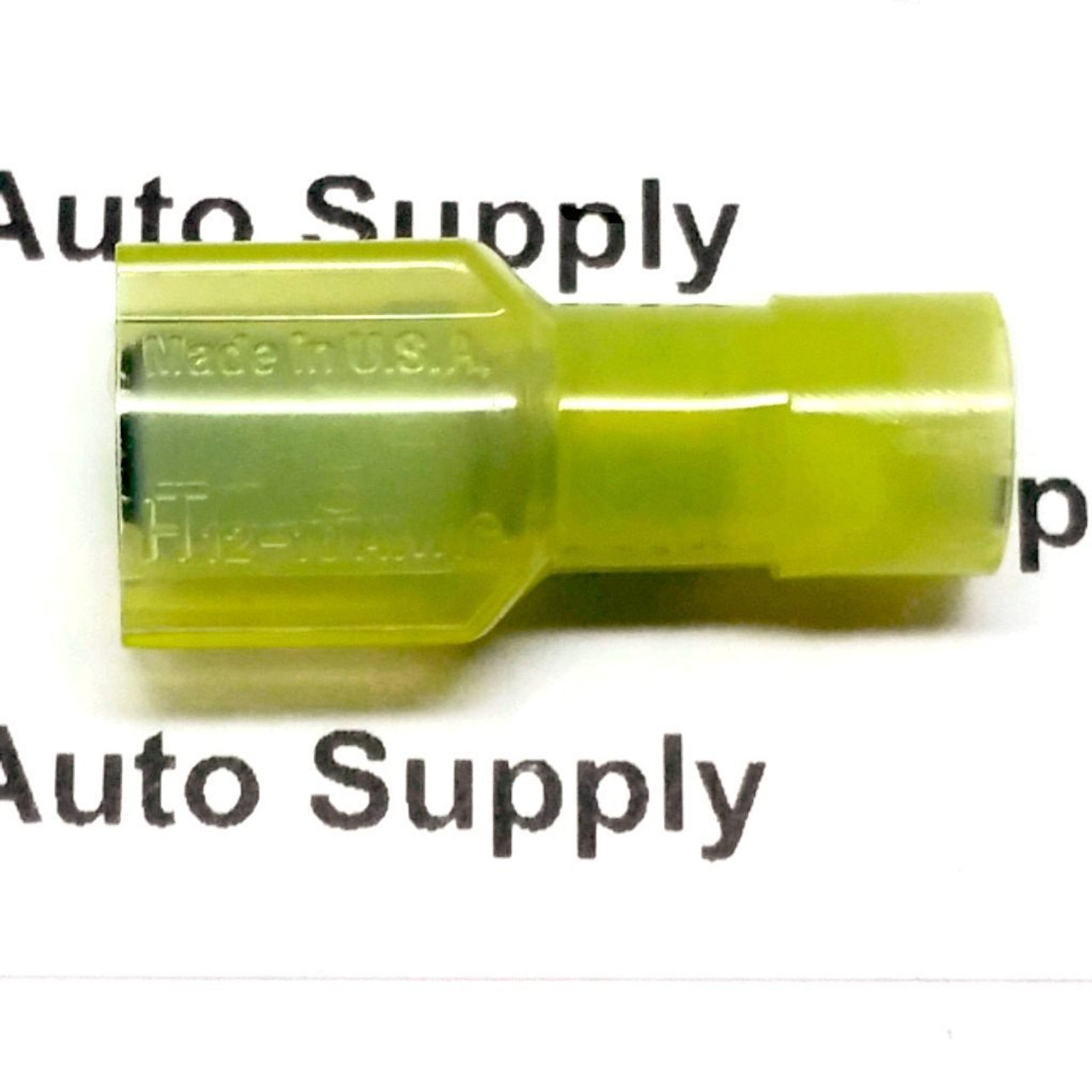 Yellow Male Quick Connect Terminal (Nylon) - BAS14465 - from Buy Auto Supply