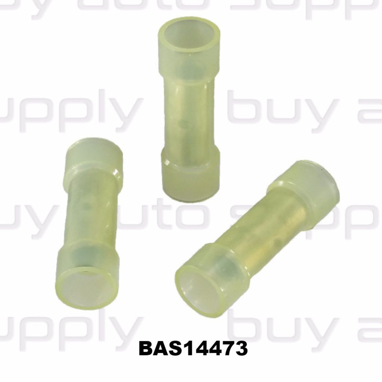 Butt Connectors - Yellow Nylon - Made in USA- BAS14473