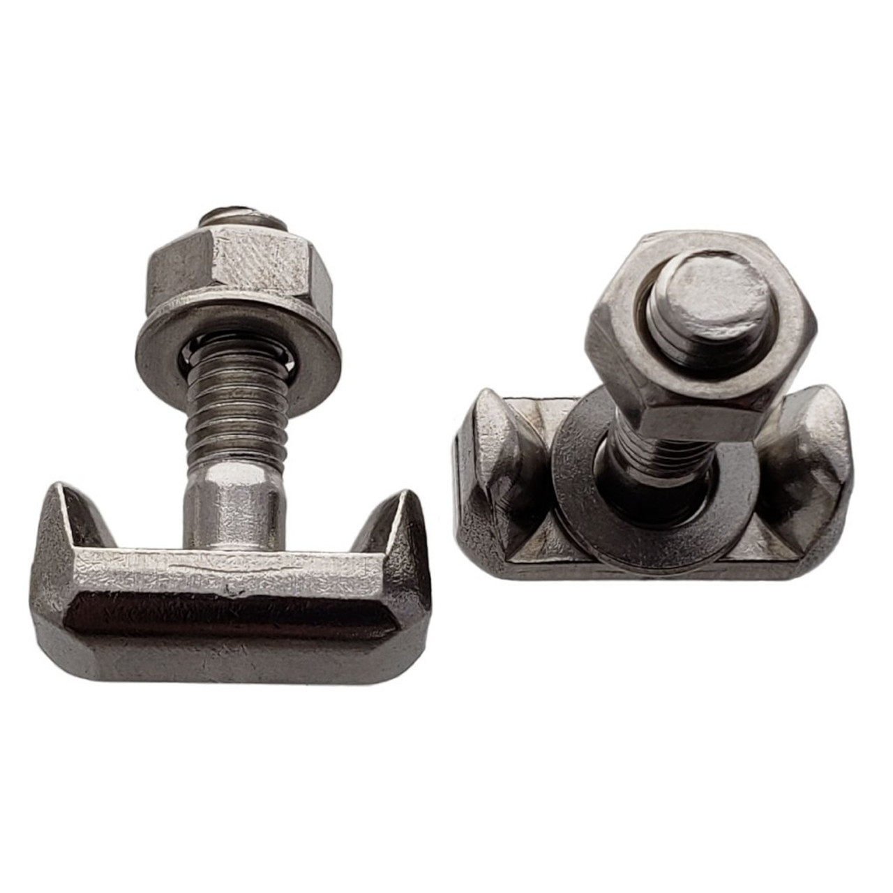Battery Terminal T Bolt, Interchanges: Dorman 64740 GM 19116852, Audi VW 6X0-915-138, BMW 61128373946, Stainless